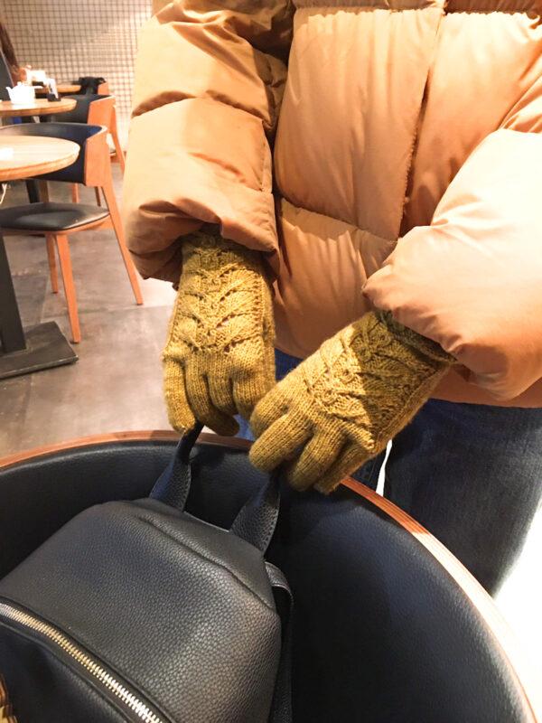 перчатки связать спицами
