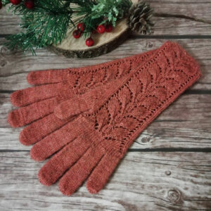 Натарин вязанВе перчатки спицами