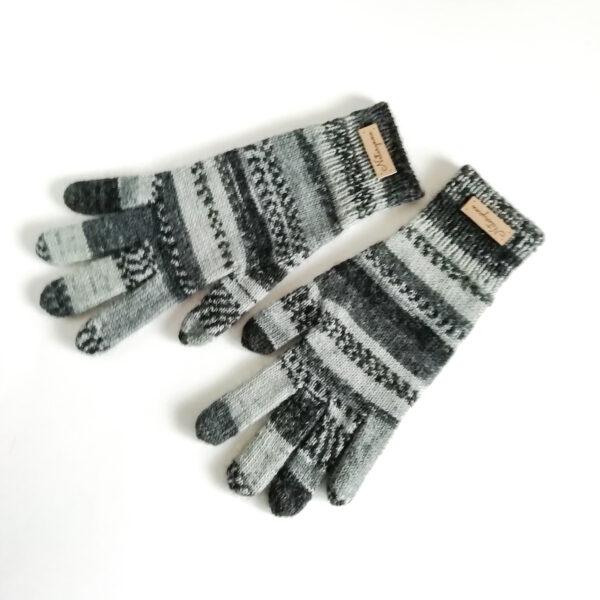 вязаные перчатки для мальчика