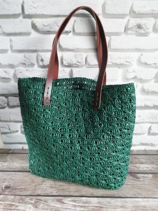 Сумка-шоппер из рафии - Natarynne