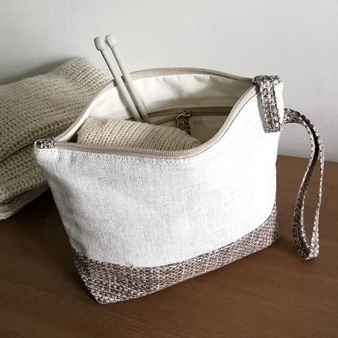 Проектная сумка для вязания